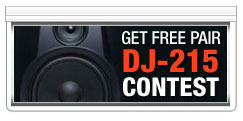 Join and Win Free Pair of DJ-215 Speaker